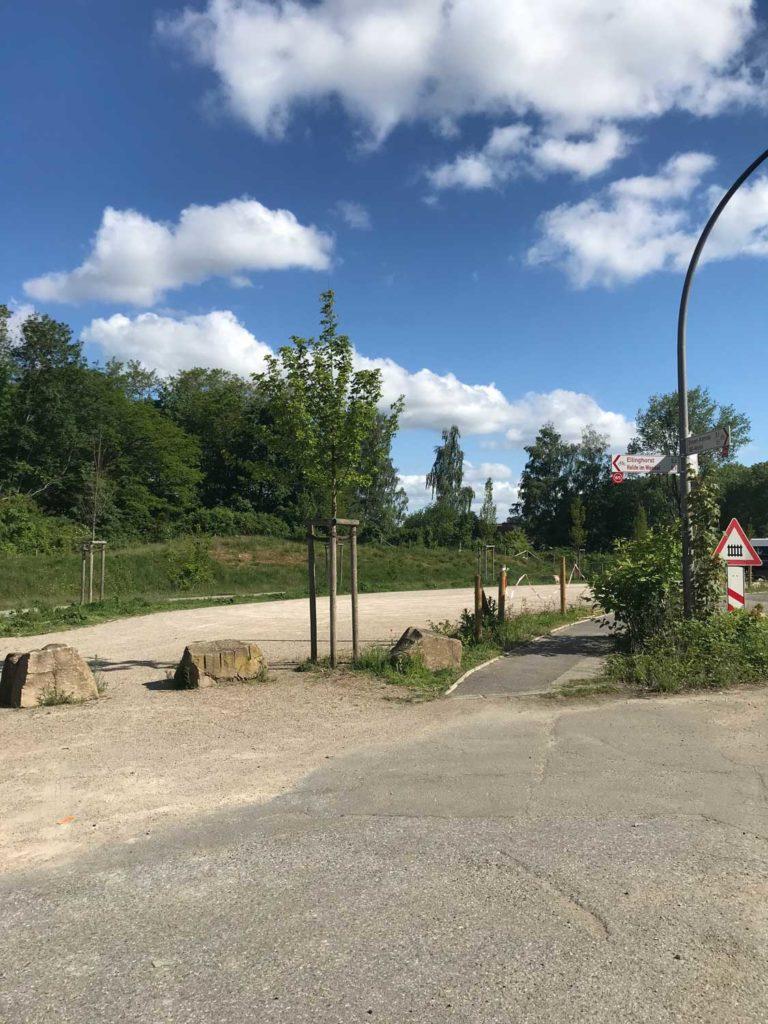 Halden-Hügel-Wanderung-Parkplatz