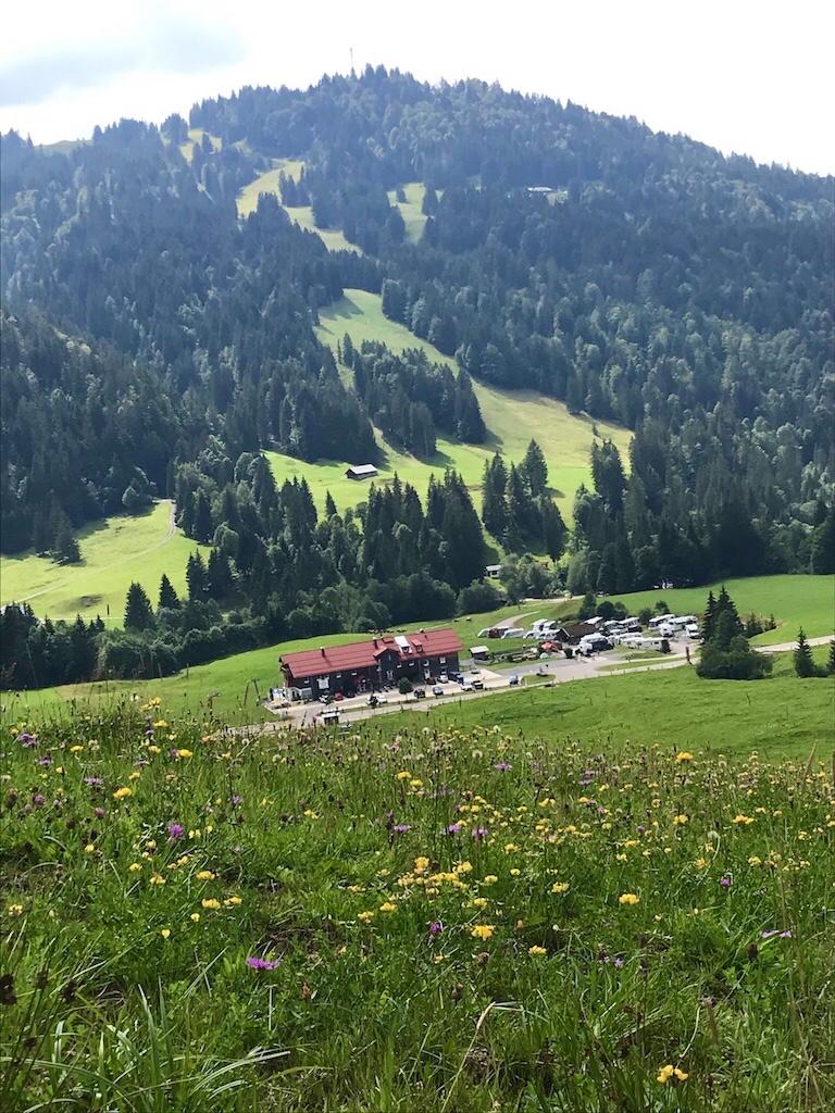 Stellplatz im Allgäu