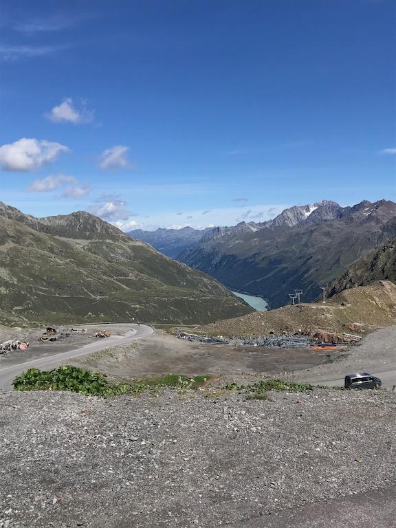 Gletscherstraße oben