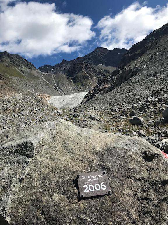 Gletscherstand 2006