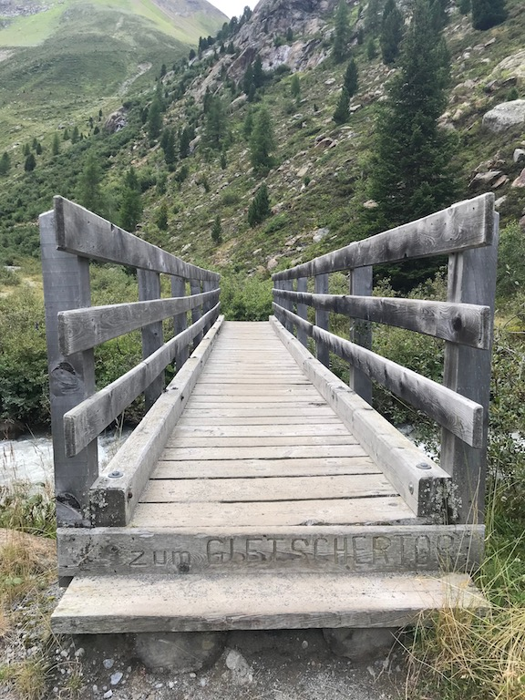 Brücke Start Wanderung