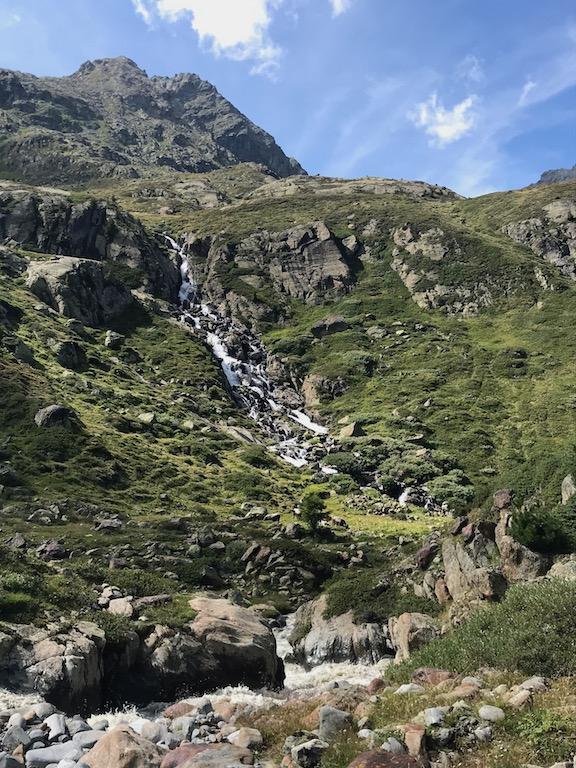 Weisssee Wasserfall