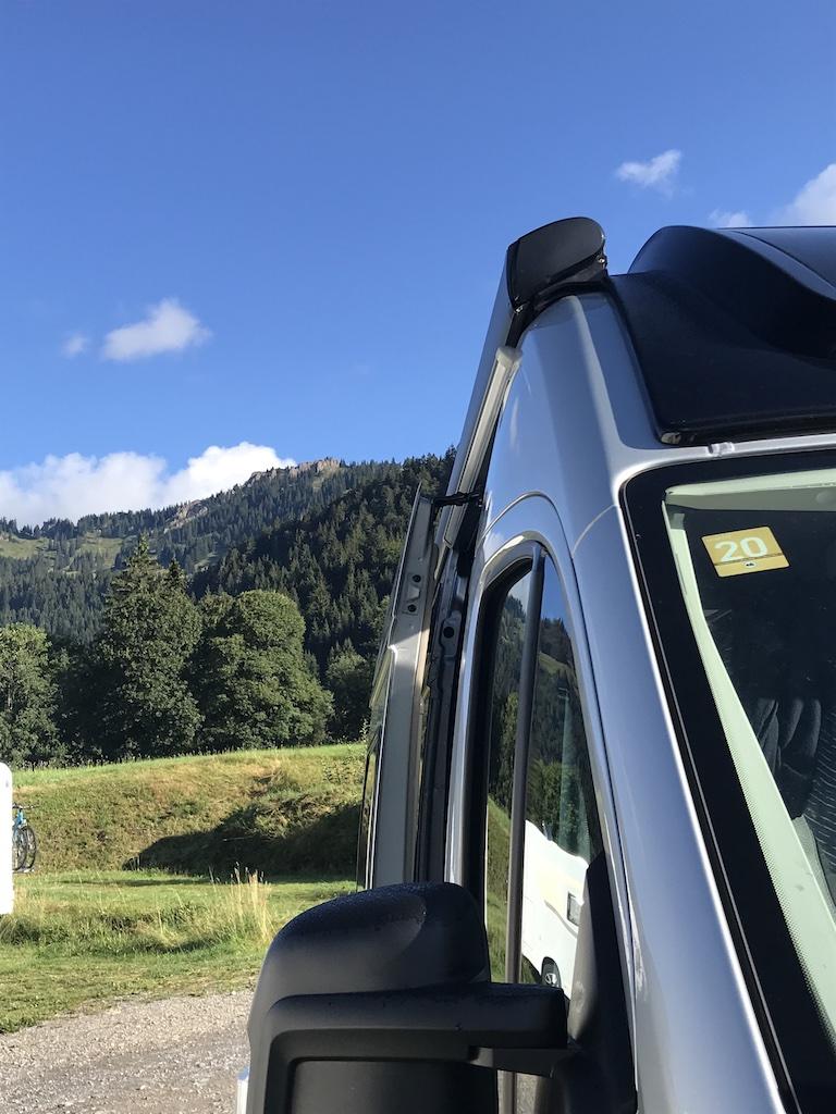 Kastenwagen in Balderschwang