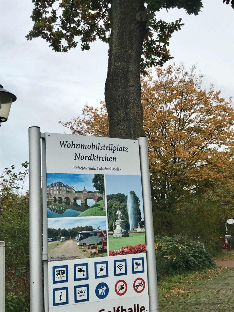 Stellplatz Nordkirchen